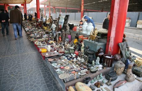 שוק הפשפשים 'Panjiayuan Antique Market' / בייג'ין סין